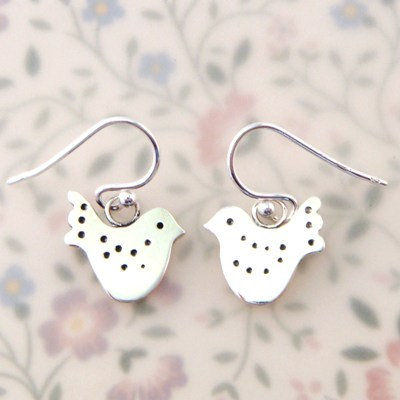 Fancy Lovebird Earrings