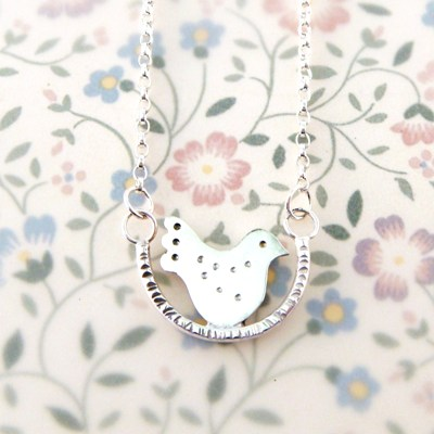 Fancy Lovebird Necklace