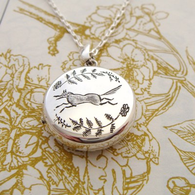 Running Fox Locket