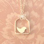 Lovebird House Necklace