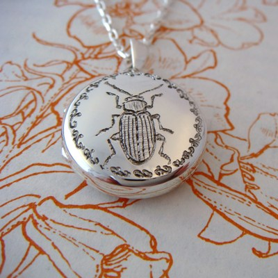 Beetle Locket
