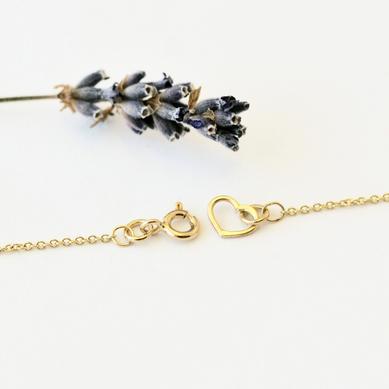 Dainty Bee Necklace, Gold