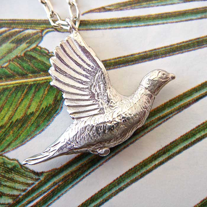 Pheasant Necklace