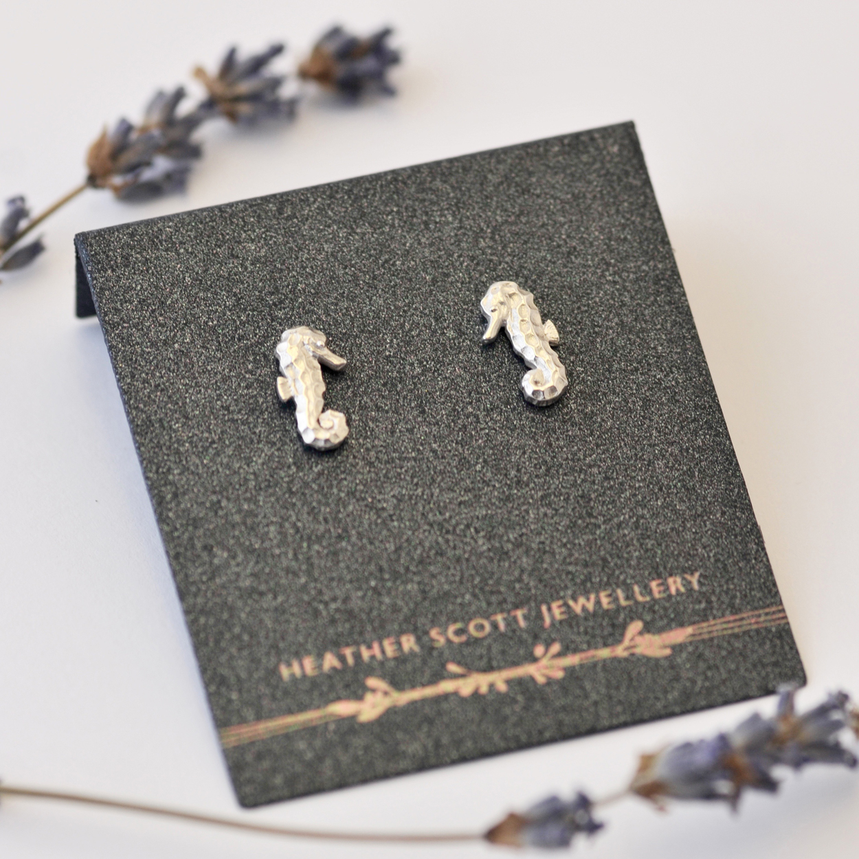 Seahorse earrings