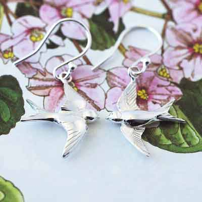 Swallow Earrings